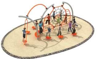 Otroška igrala bodo dopolnili z motoričnim kotičkom in fitnesom